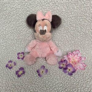 Baby Minnie Rattle Plush